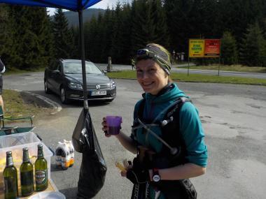 Jesenická stovka 2017 - Eliška Kaniová na Skřítku